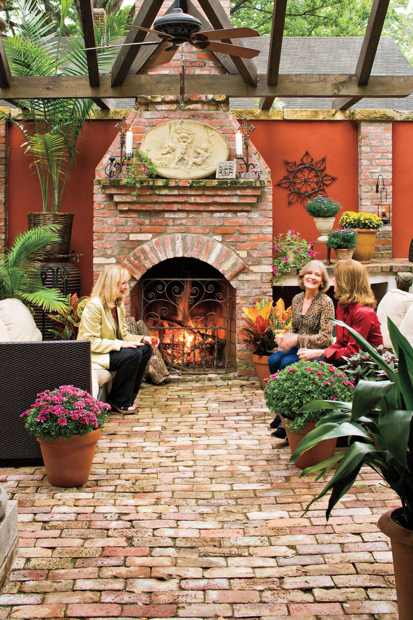 Beautiful Outdoor Room Ideas Fall And