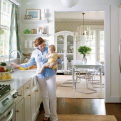 White Kitchen Floor Solid Wood Table All Time Favorite Kitchens Southern Living Small