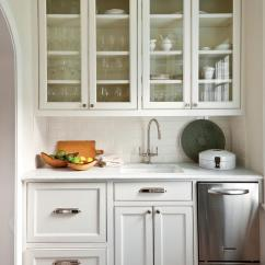 Kitchen Cabinets White Oval Tables Crisp Classic Southern Living