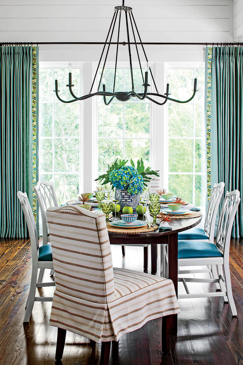 queen anne chair cover two person lounge stylish dining room decorating ideas - southern living