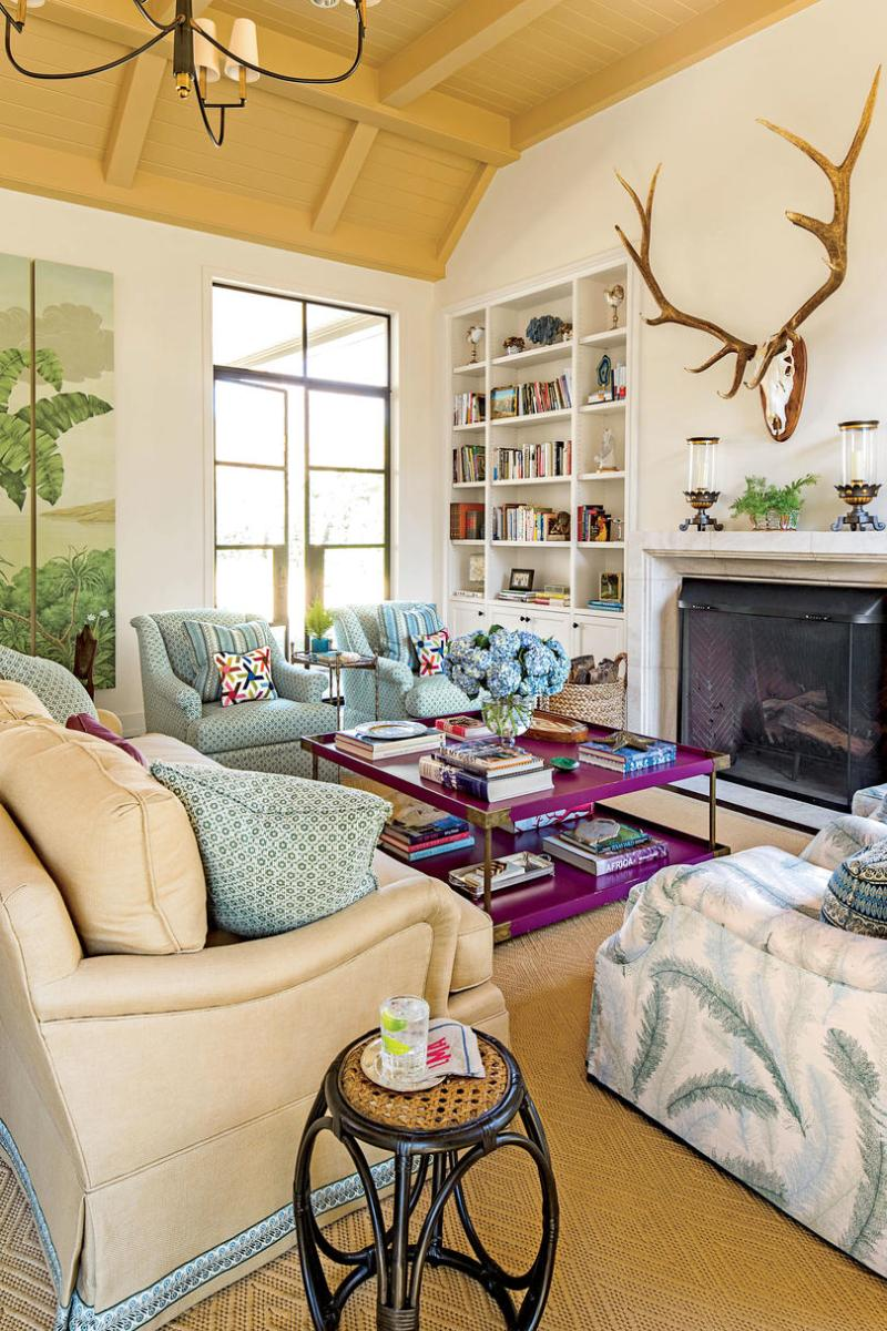How To Decorate Drawing Room Without Furniture