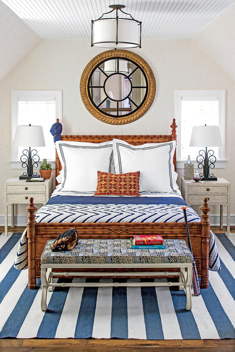 The master bedroom is probably the most ignored room in my house when it comes to style. Beautiful Blue Bedrooms - Southern Living