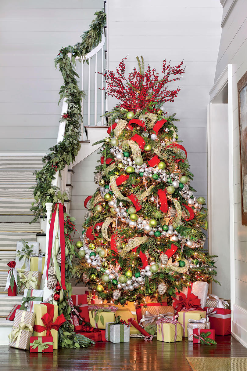 Pink Ribbon Iphone Wallpaper Christmas Tree Ideas For Every Style Southern Living