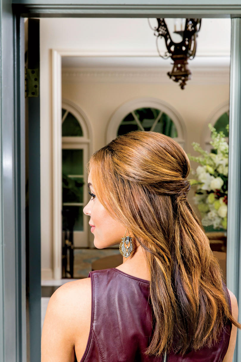 easy party hairstyles - southern