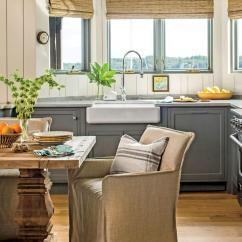 Decorating Kitchen Water Filter For Sink Small Space Tricks Southern Living Gray And Neutral