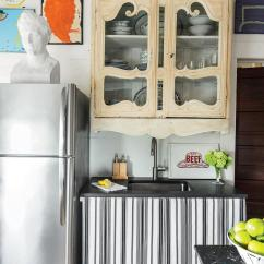 Decorating Kitchen Simple Outdoor Small Space Tricks Southern Living Antique Cabinet Over Sink