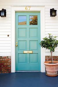 What Does Your Front Door Color Say About You? - Southern ...