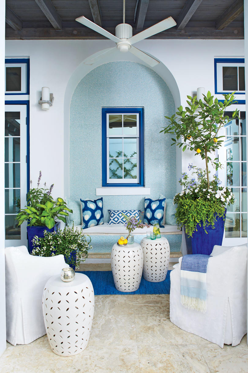 Southern Front Porch Decorating