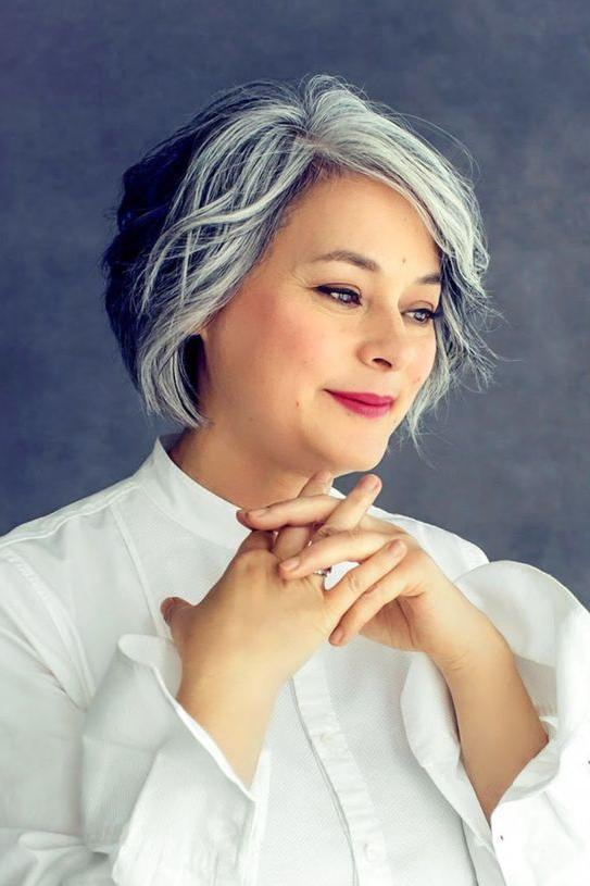 amazing gray hairstyles love
