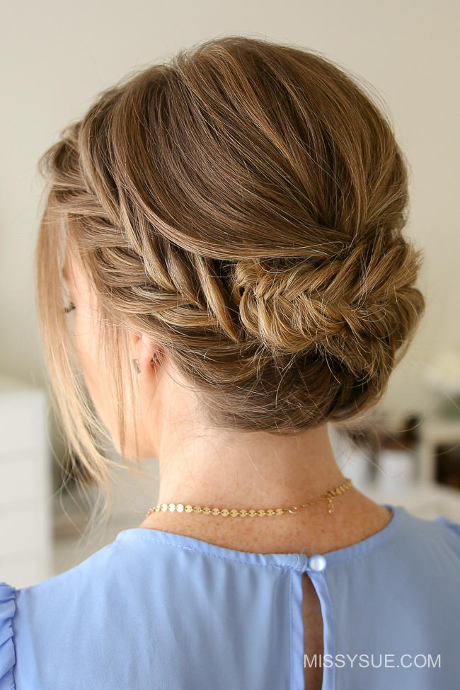 great updos medium length hair