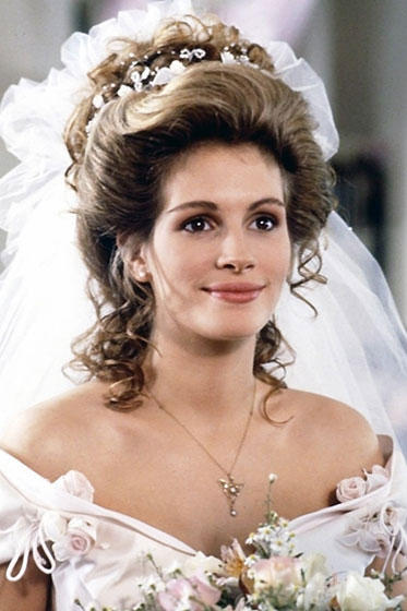 famous bridal hair of