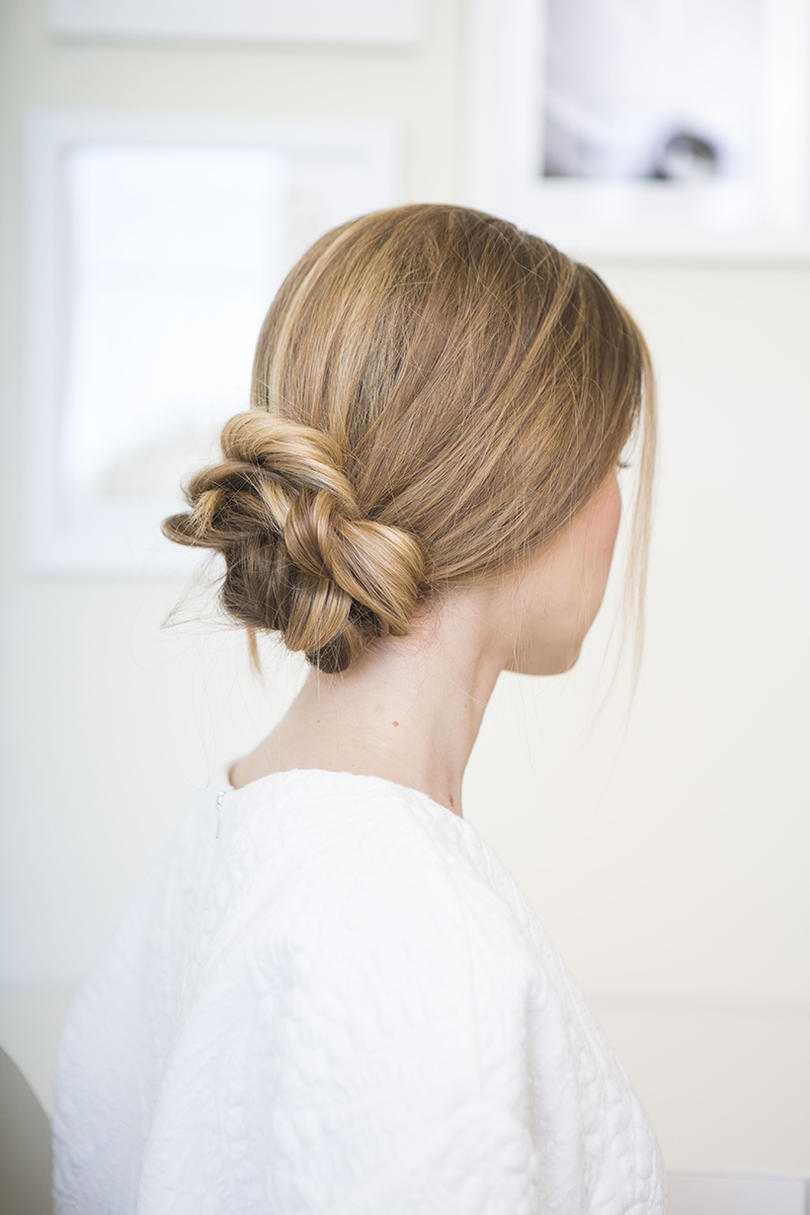 bun hairstyles - southern living