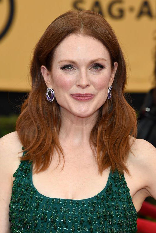 celebrities with red hair ll