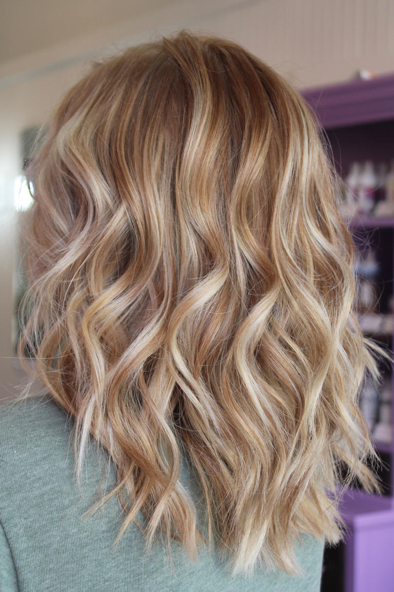 Rose blonde also warm hair shades perfect for brightening your locks this spring rh southernliving