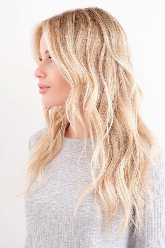 Warm platinum blonde also hair shades perfect for brightening your locks this rh southernliving