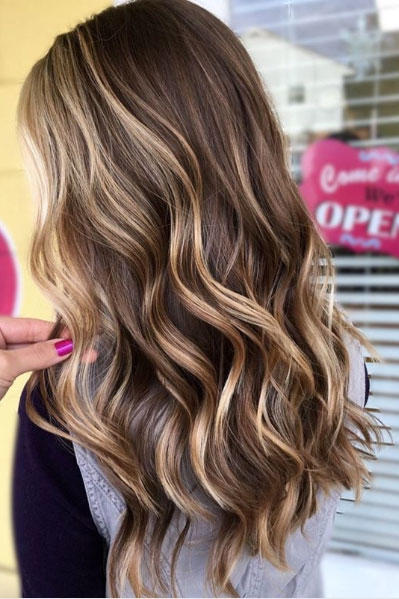 sunkissed beachy highlights