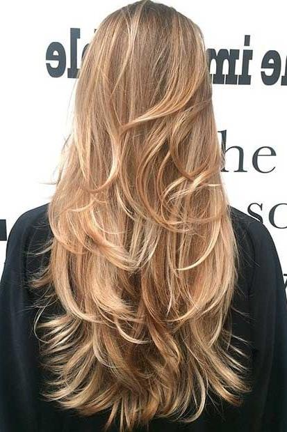 gorgeous layered haircuts long