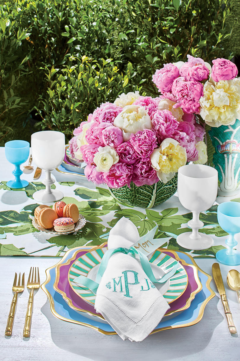 Secrets Setting Pretty Table Spring Party