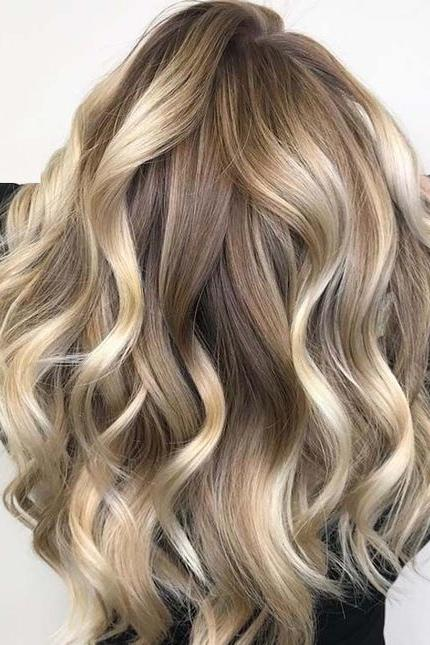 bright and beautiful hair color