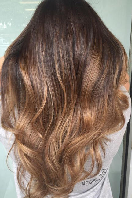 brown ombr hair color ideas