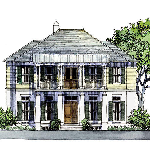 Bayou Bend Idea House Design Plans Southern Living