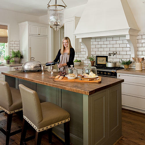 kitchen island large cabinets liquidators stylish ideas southern living butcher block shining