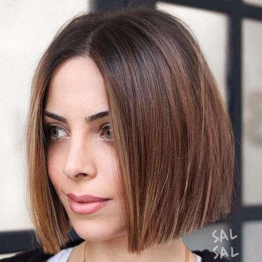 OneLength Haircuts Thatll Convince You to Ditch Those