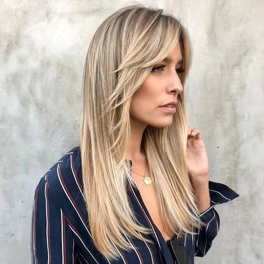 hairstyles with bangs short