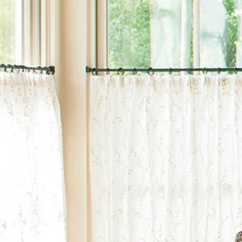 Living Room Design Planner Boarding House Bad Homburg How To Hang Café Curtains - Southern