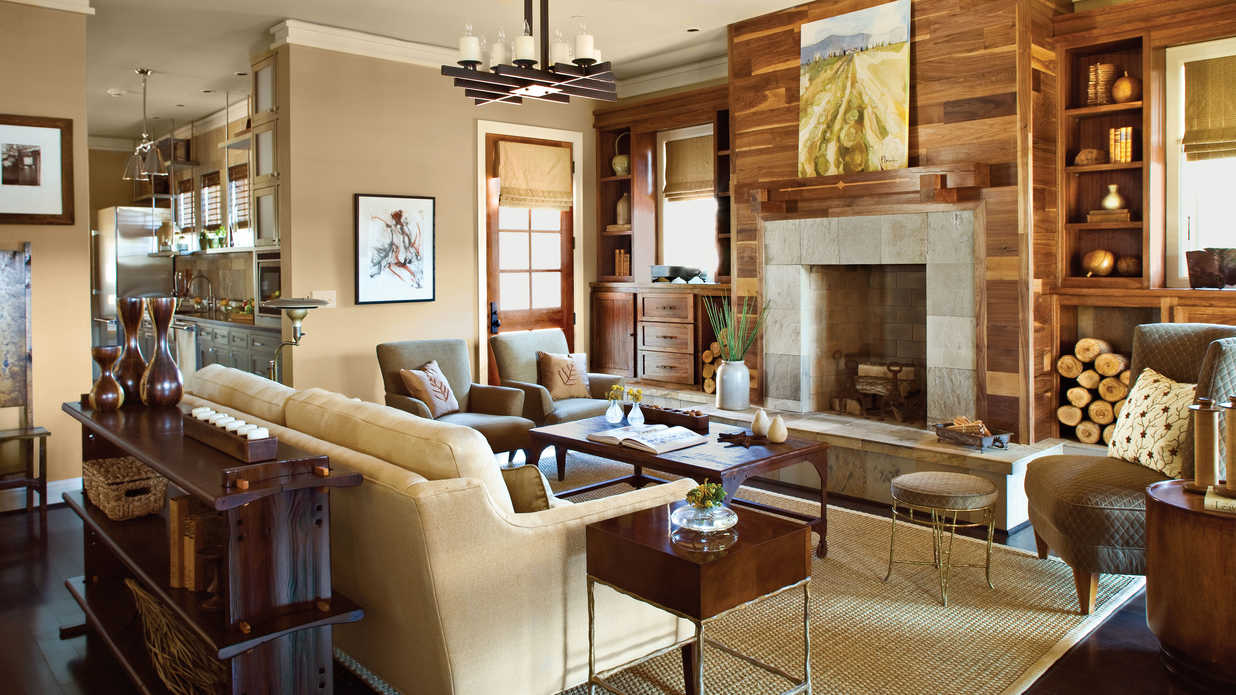 how to decorate long rectangular living room cheap suits use unexpected materials - 106 decorating ...