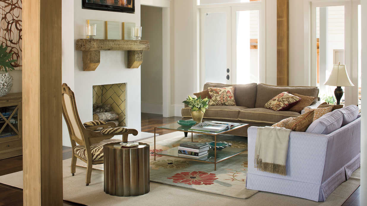 Mix And Match Patterns  106 Living Room Decorating Ideas