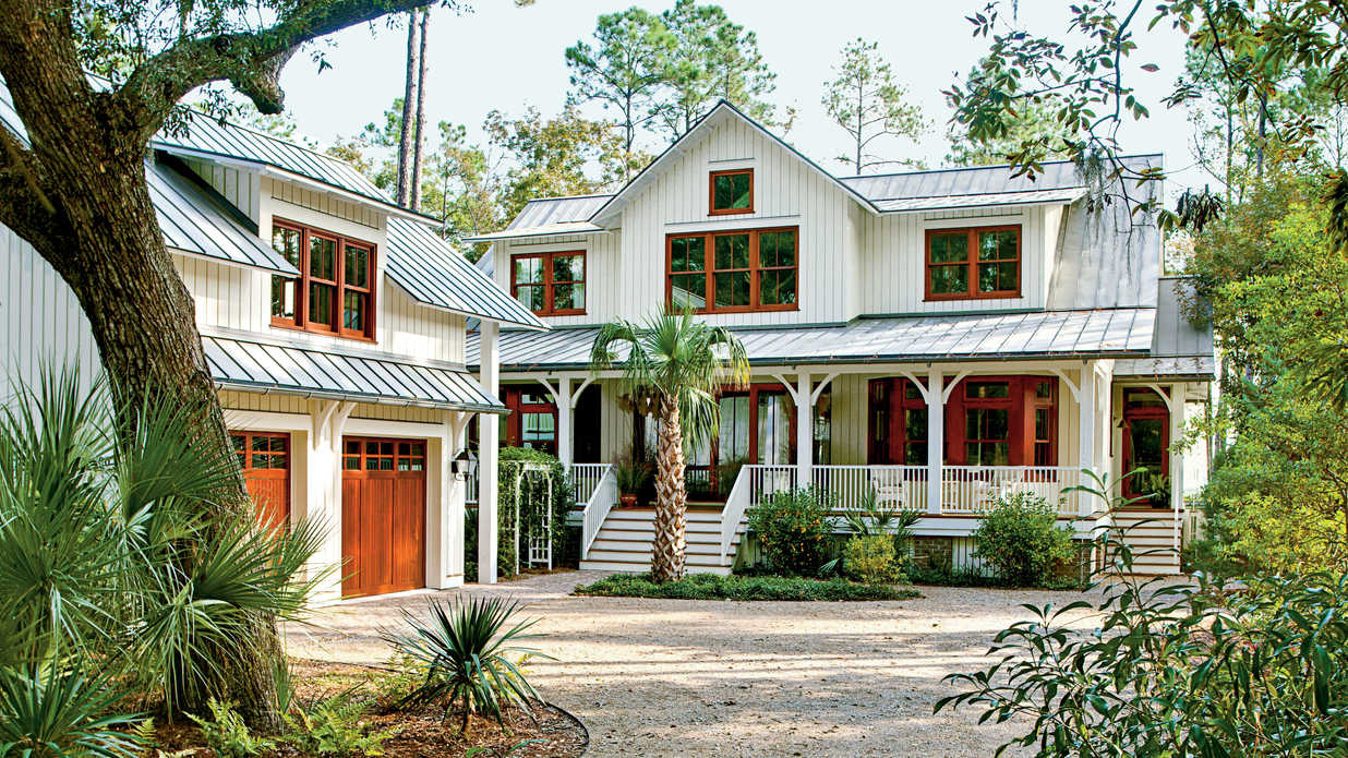 Fall Cape Cod Wallpaper Lowcountry Style House Southern Living