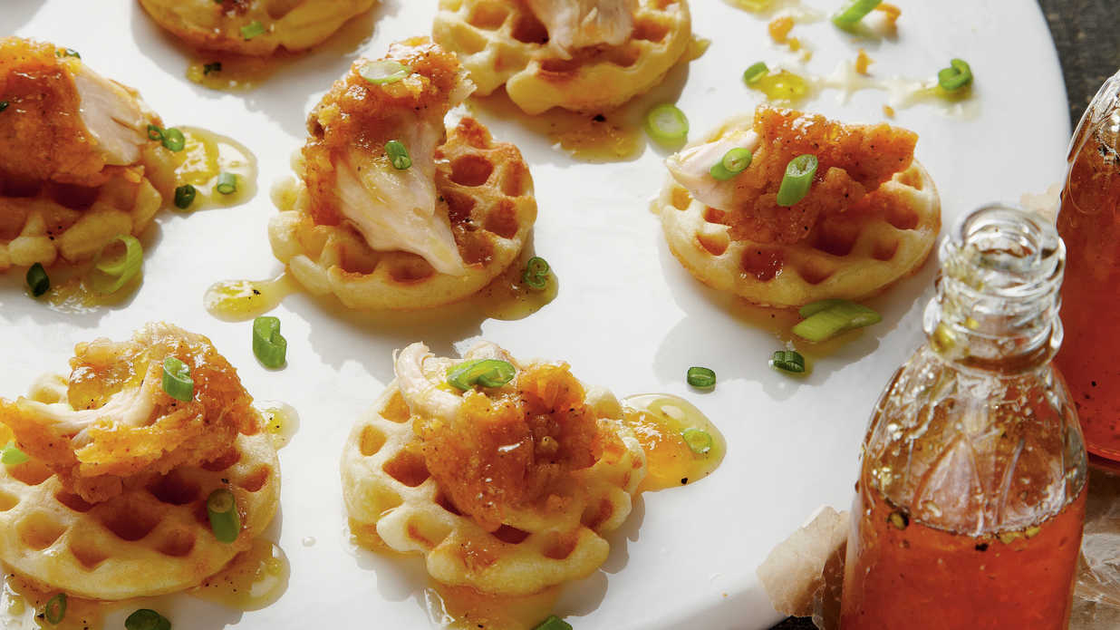 kitchen planner app trash can for 14 festive mini appetizers - southern living