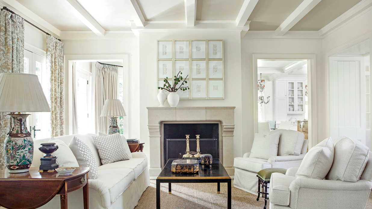 Lighten Up With White 106 Living Room Decorating Ideas Southern Living
