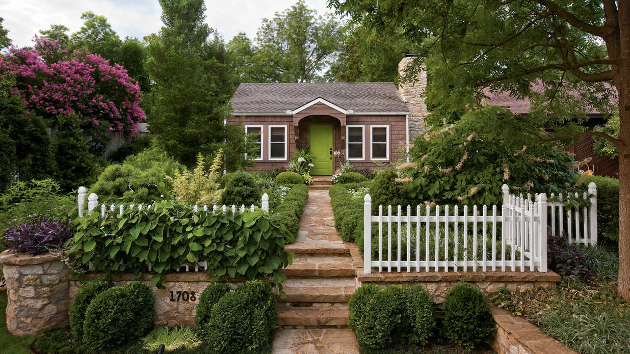 cottage garden design ideas - southern