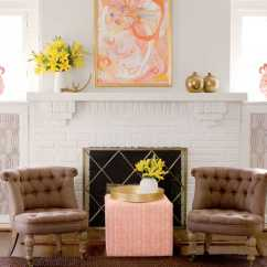 Interior Design Ideas For Living Rooms Room Decor With Brown Sofas A Decorator S 1920s Home Redo Southern