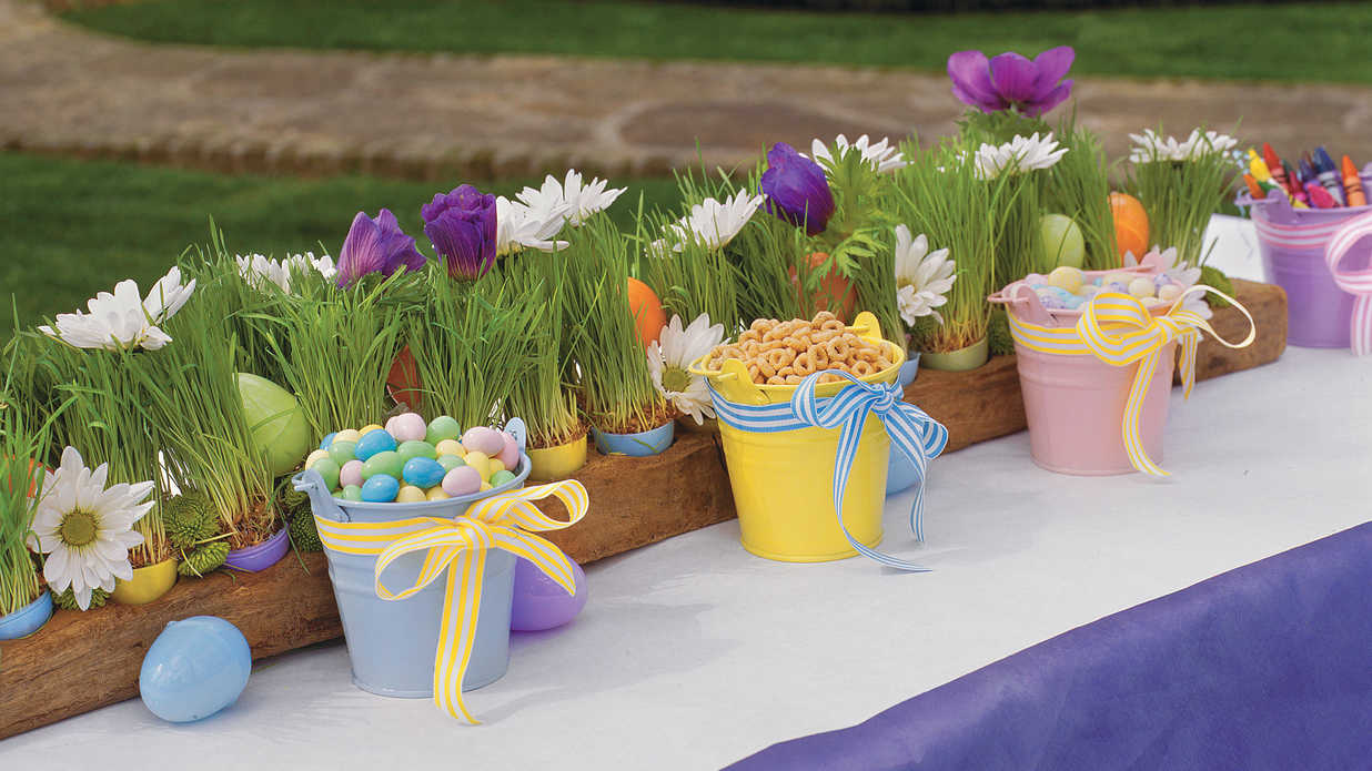 KidFriendly Easter Table  Spring Table Settings and