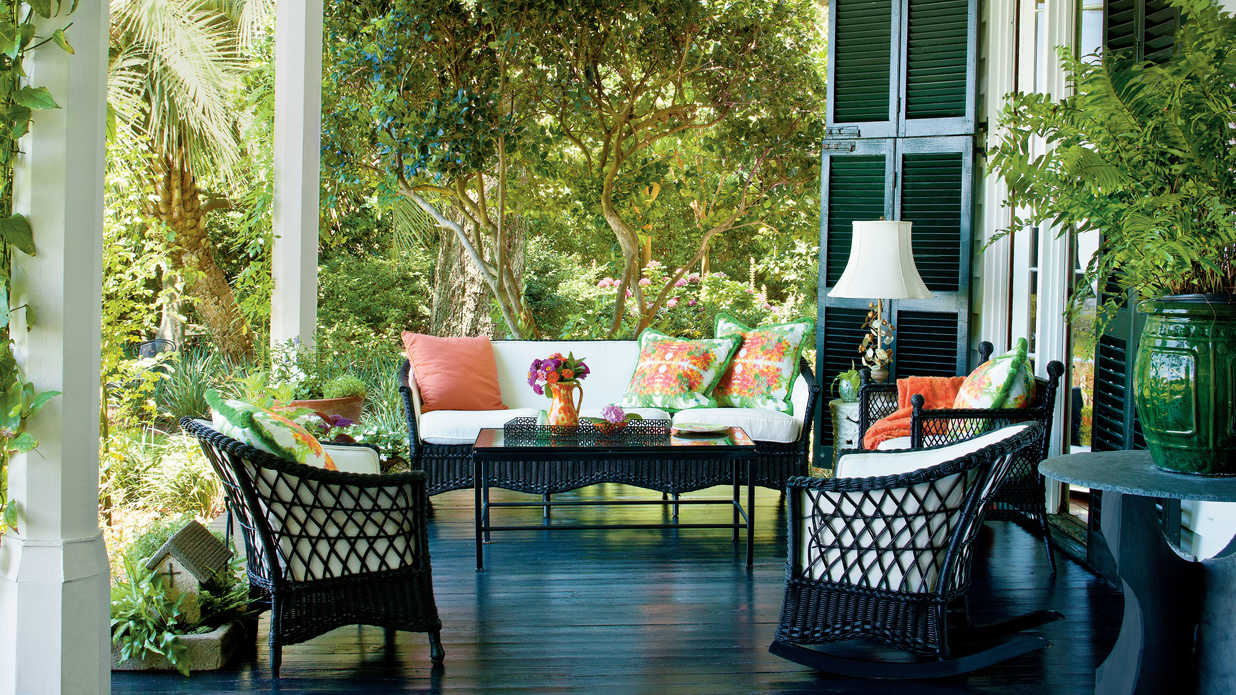 Charming Southern Front Porch  Southern Living