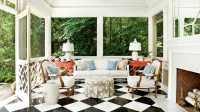 Pool House - Indoor Outdoor Fabric Ideas - Southern Living