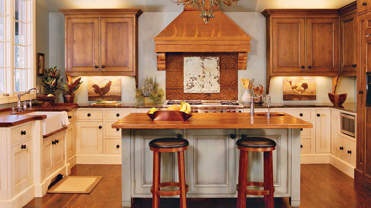 Warm  Inviting  Our Best Cottage Kitchens  Southern Living