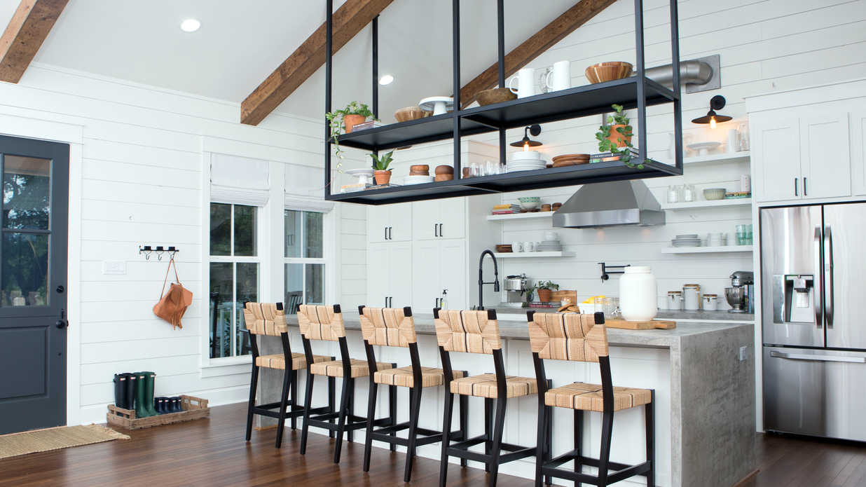 rooms to go kitchen islands cabinet makeover kit fixer upper season 4 finale before and afters - southern ...