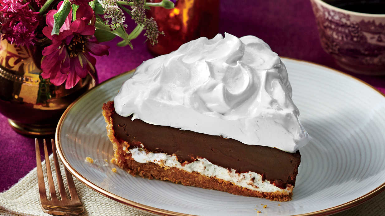 Over the Moon Chocolate Pie Recipe  Southern Living