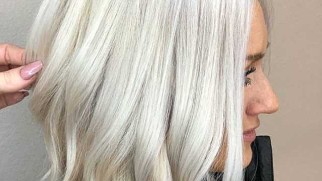 the new platinum blonde is here–and it's the only hair