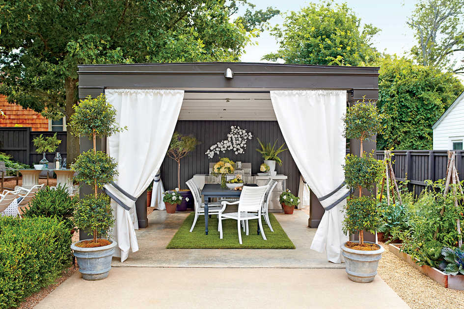 outdoor living rooms pictures room ceiling beams southern garden cabana