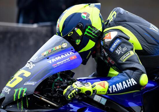 MotoGP 2019. Valentino Rossi: Too much braking during braking
