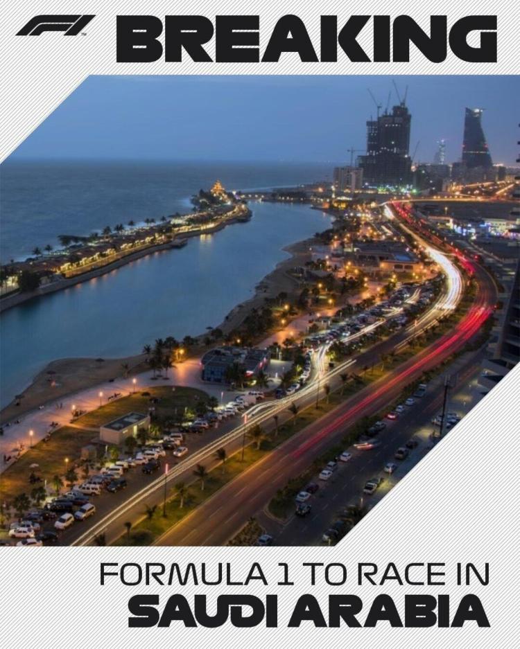 Formula 1: il GP dell'Arabia Saudita entra ufficialmente nel calendario  2021 - Formula 1 - Automoto.it