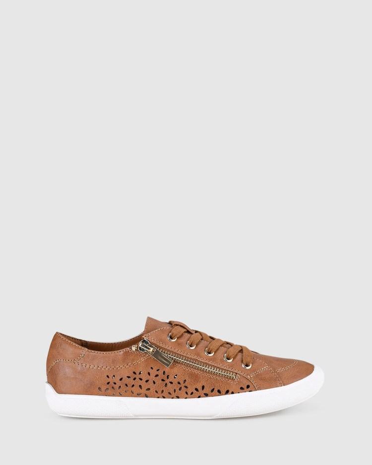 Verali Reese Lifestyle Sneakers Tan