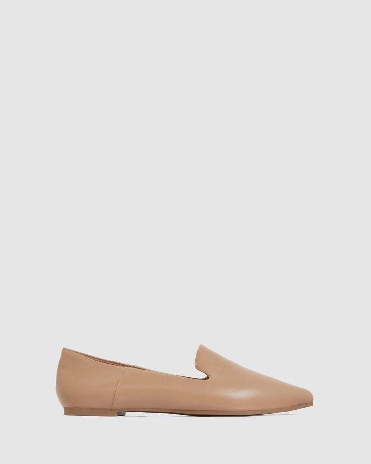 Sandler Liana Ballet Flats CAMEL