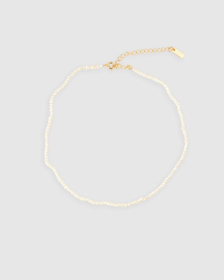 ALIX YANG Chloe Choker Jewellery White