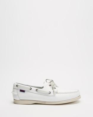 Sebago - Docksides Portland - Casual Shoes (White) Docksides Portland